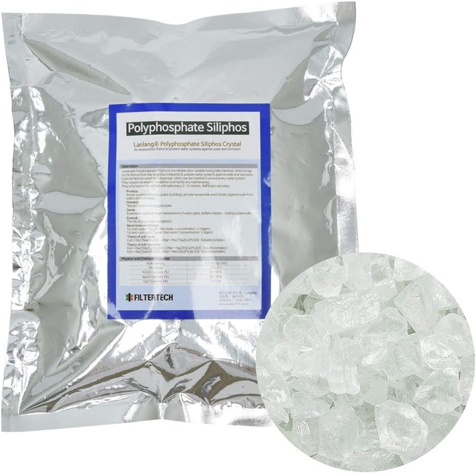 FilterTech Anti-Scaling Polyphosphate Siliphos Crystal (5~15mm)