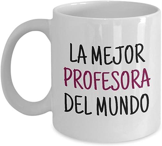 Amazon.com: Profesor de español taza – Español profesor Idea ...