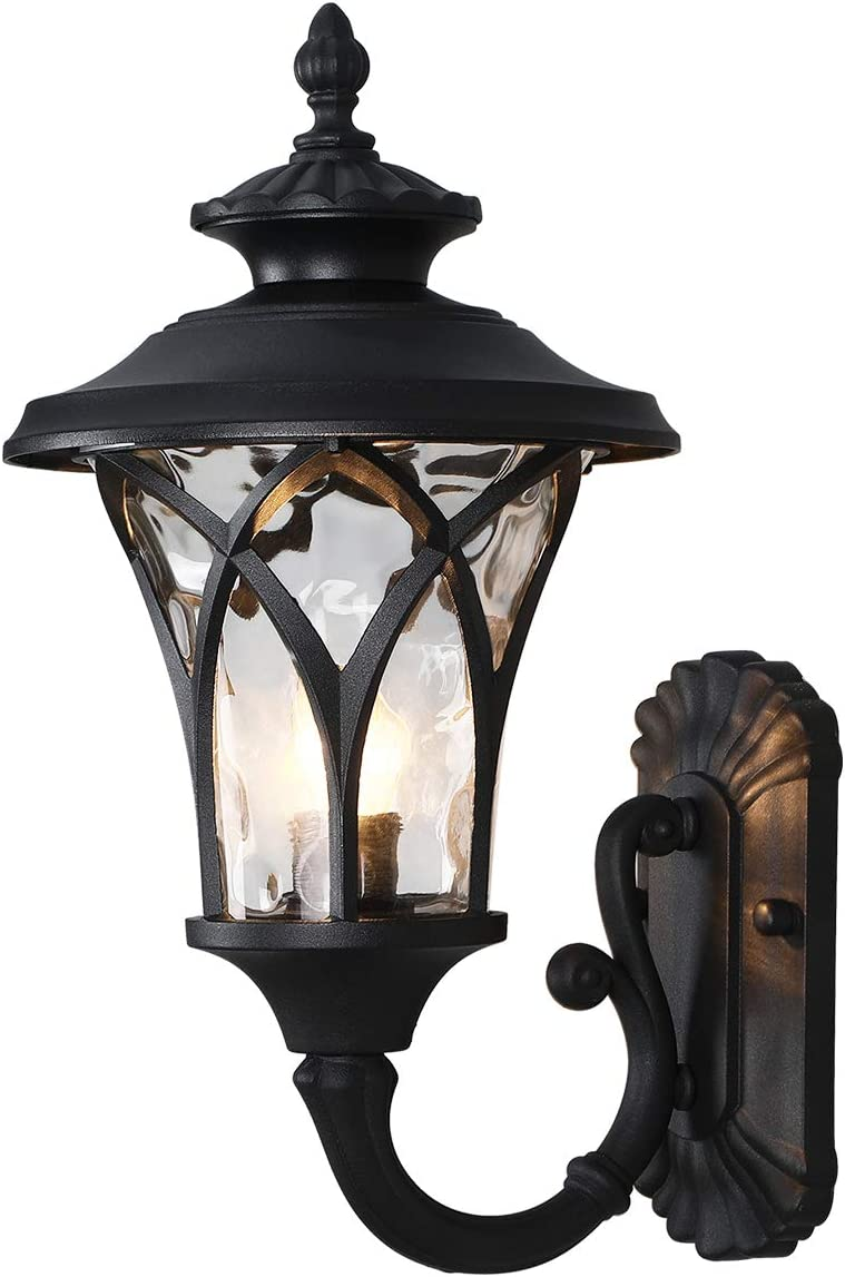 Industrial Outdoor Wall Light Vintage Style Large Size 17.32