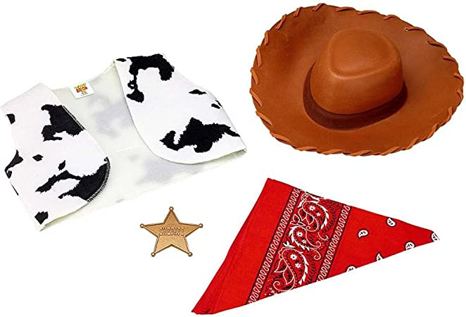Disguise Disney Toy Story & Beyond Woody Costume Accessory Kit, One Color, No Size