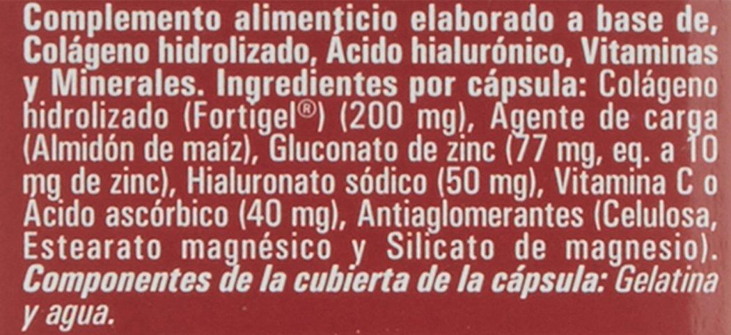 Nutriox Colágeno + Acido Hialurónico Fortigel - 30 Cápsulas: Amazon.es: Salud y cuidado personal