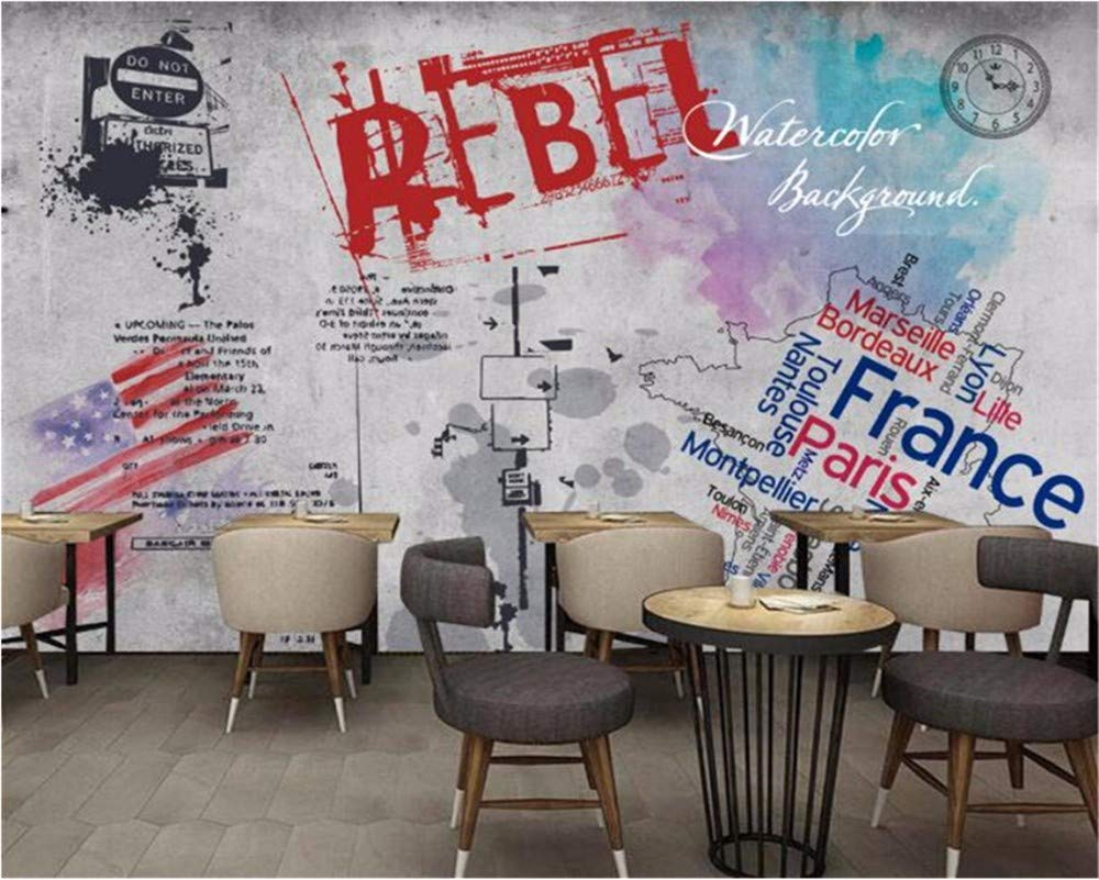 Weaeo 3D壁紙ホーム装飾壁画グラフィティの壁紙リビングルームベッドルームテレビ壁の壁紙3D-250X175Cm B07HCB4WC9 250X175CM 250X175CM