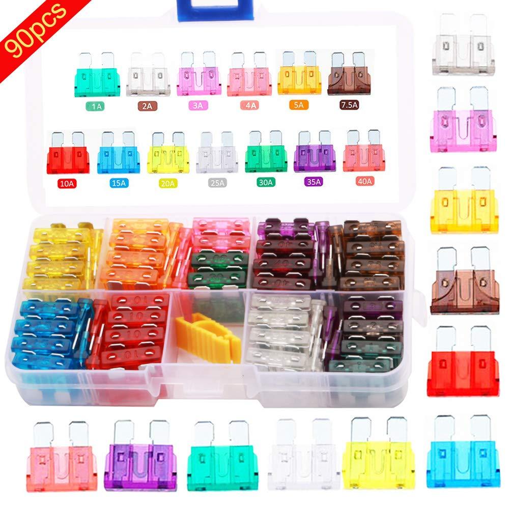B Blesiya Kit di Riparazione per Cucitrice in Plastica di Forma Standard 0,8 Mm
