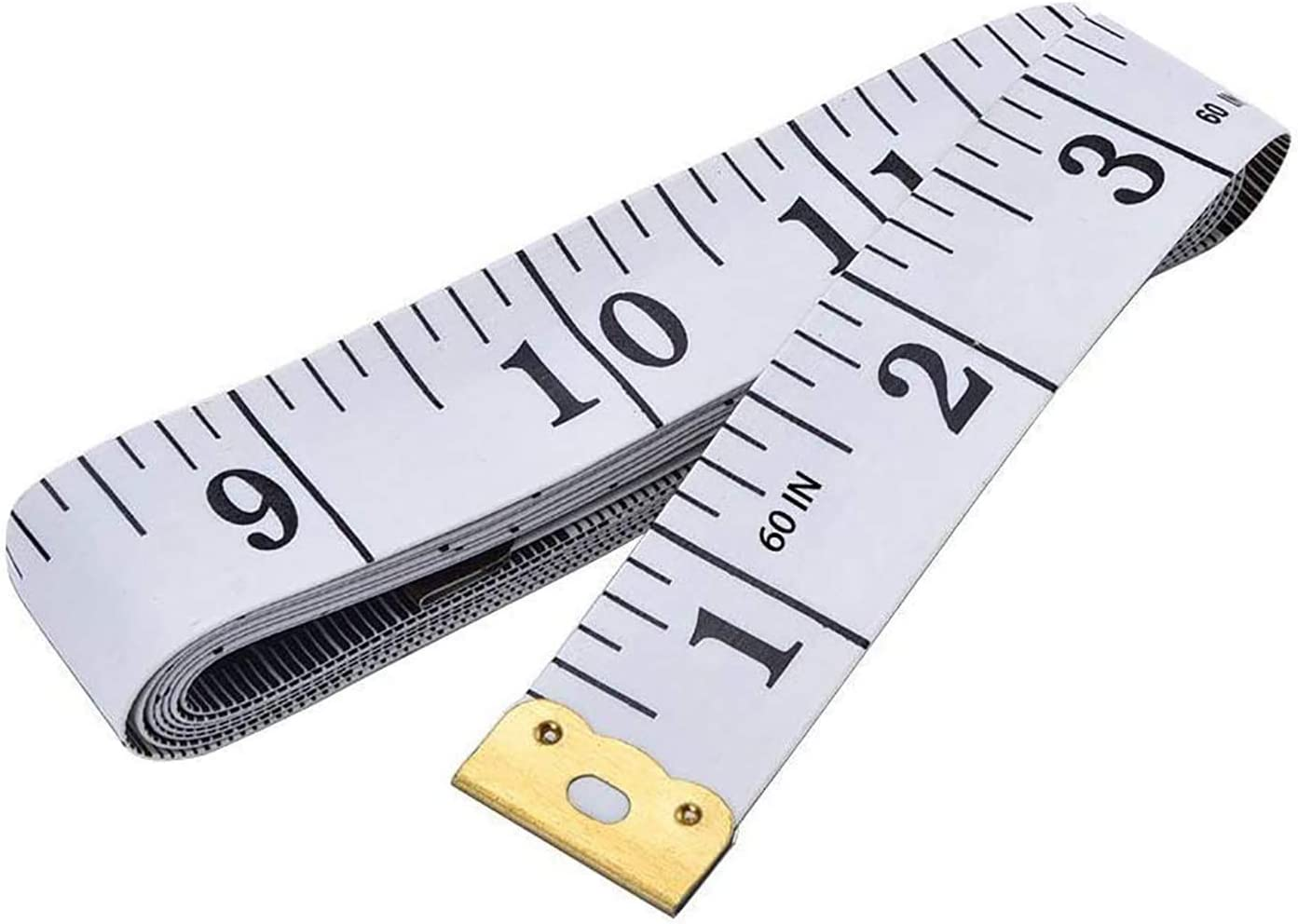 Amazon.com: Soft Tape Measure Double Scale Body Sewing Flexible Ruler for  Weight Loss Medical Body Measurement Sewing Tailor Craft Vinyl Ruler, Has  Centimetre Scale on Reverse Side 60-inch(White)
