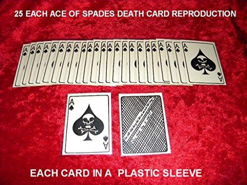 VIETNAM WAR ACE OF SPADES DEATH CARD