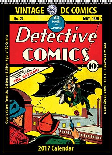 2017 Vintage DC Comics Calendar (Asgard Press compare prices)