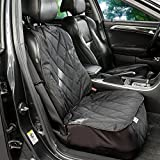 Cheap Pauraque Pet Front Seat Cover for – Cars, Trucks & SUVs,Dog Front Seat Cover Protector – Black, WaterProof & Nonslip Backing