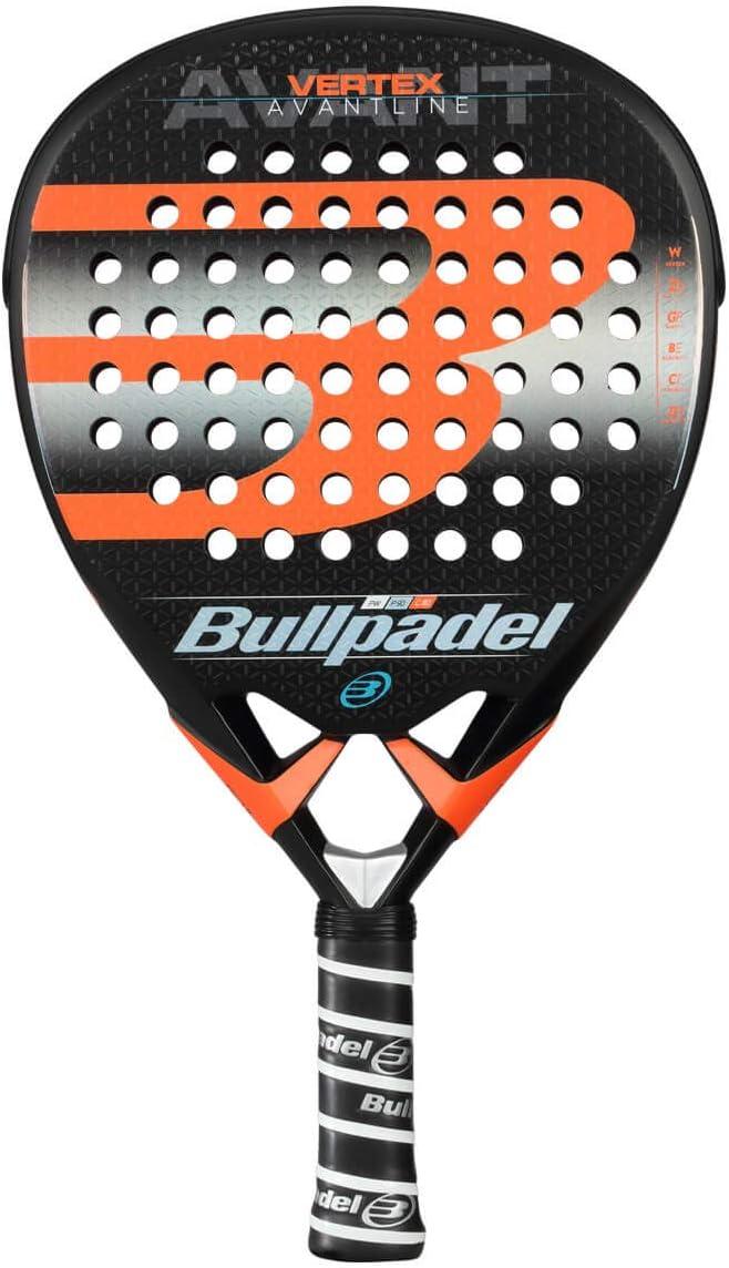 Bullpadel Vertex 2019 Palas, Adultos Unisex, Negro, 380