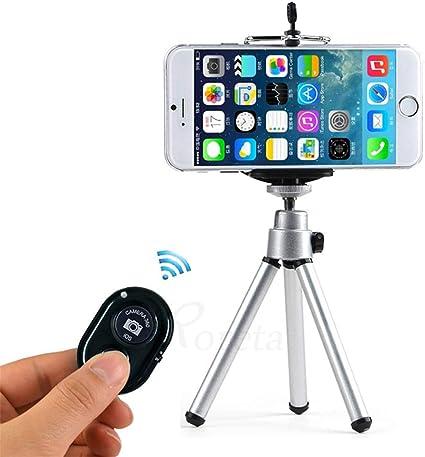 W&Z Trípode Remoto Bluetooth trípode para cámara teléfono Celular ...