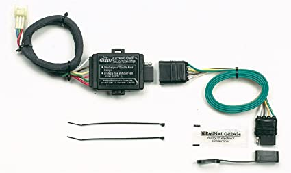 61vyuCKHFzL._SX425_ amazon com hopkins 43855 plug in simple vehicle wiring kit automotive