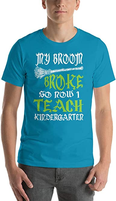 RM SALESFORCE IVS Broom Broke Funny T-Shirt Men