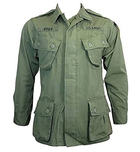 Amazon.com: US Olive Green Tropical/Jungle Jacket - Vietnam ...