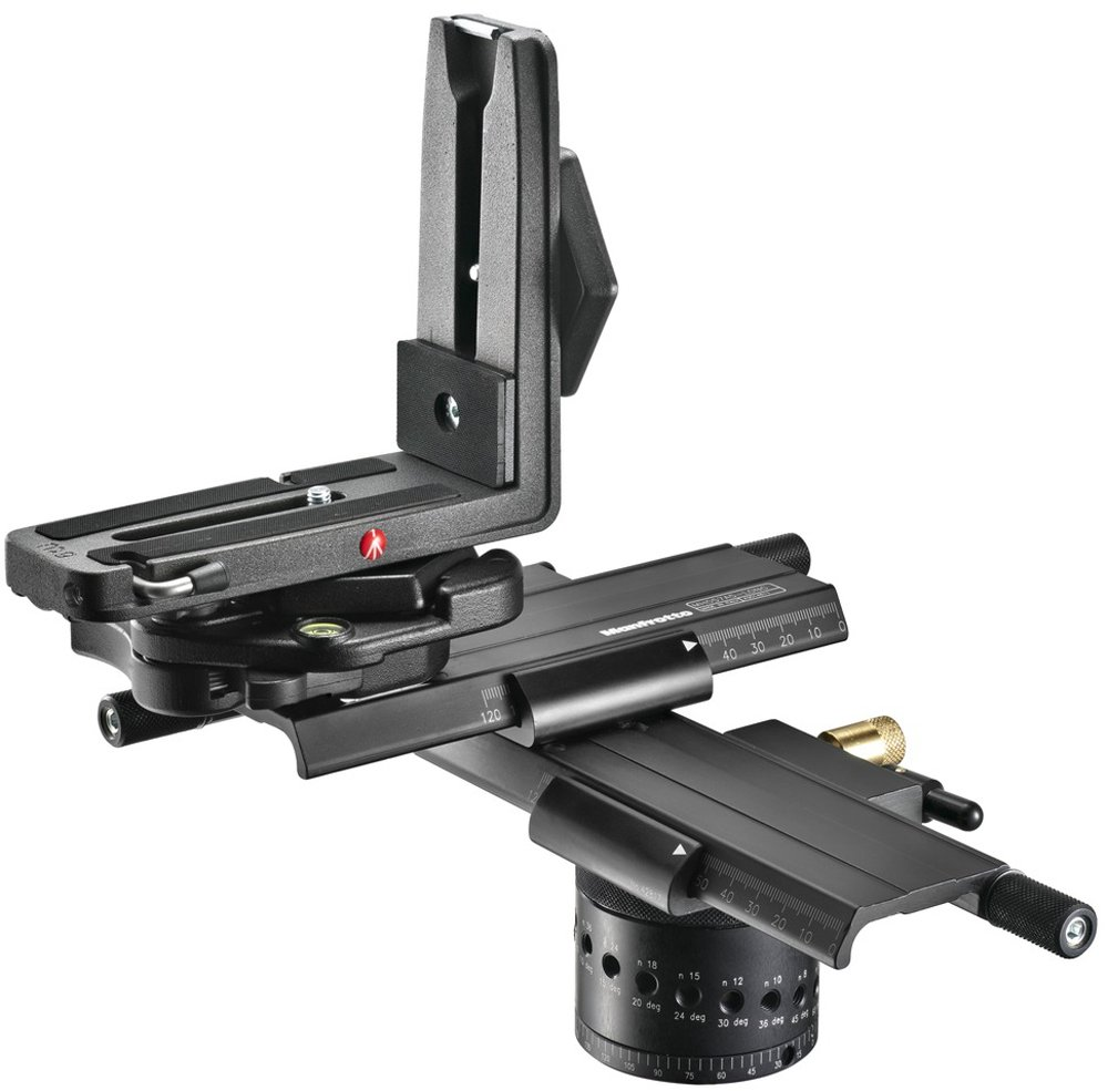 Manfrotto MH057A5-LONG 5.79-Inch Virtual Reality and Pan Pro Head (Black) by Manfrotto (Image #1)