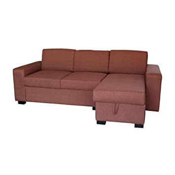 Amazon De Ecksofa Eckpolstermobel Braun Sofa Outlet Wallisellen