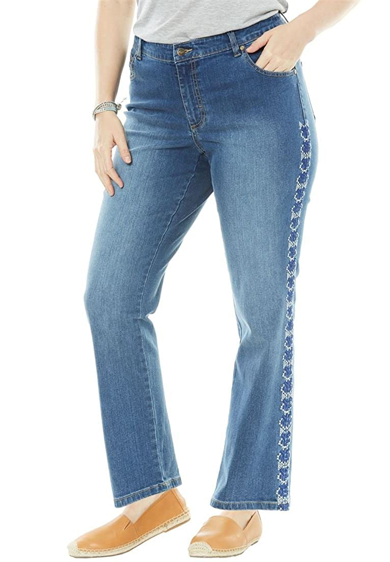 bffb765dfff ... Plus Size Straight Leg Stretch Jean. Wholesale Price 29.89 -  51.47.  Sits at the waist. Regular  30