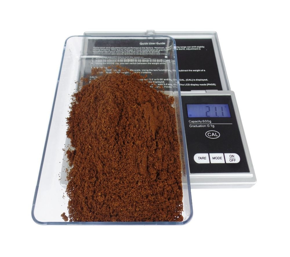 Digital Espresso Coffee Machine Weighing Scales - 600g x 0.1g Edesia Espress Ltd
