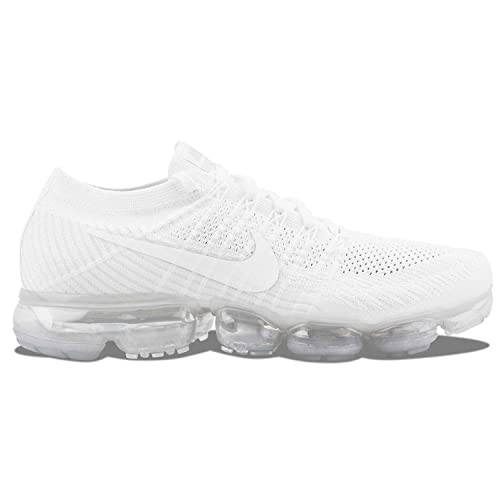 best service 01965 6dc56 Amazon.com | Nike Men's Air Vapor Max Flyknit White 849558 ...