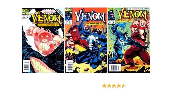 Venom The Madness U-PICK ONE #1,2 or 3 Marvel 1993 PRICED PER COMIC