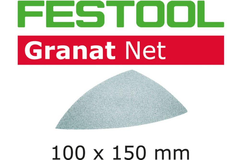 stahlgrau Festool 203294 Schleifnetz STF D125 P80 GR NET//50 Size