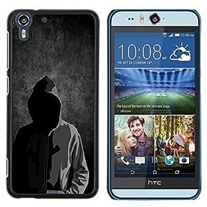 Stuss Case / Funda Carcasa protectora - Tipografía Forever Young Mensaje - HTC Desire Eye M910x