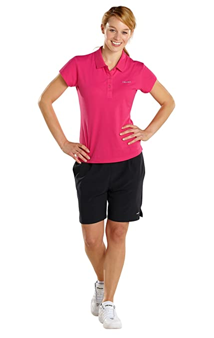 Head Club Women Mary Polo Button FS13, color Rosa - rosa, tamaño M ...