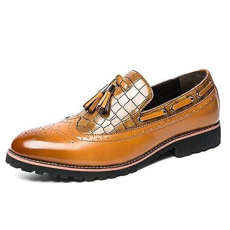 49e10a8d97cbc 2018 Richelieus Homme, Chaussures Richelieu pour Hommes, Mode Collection  Casual Fringe de Style Britannique