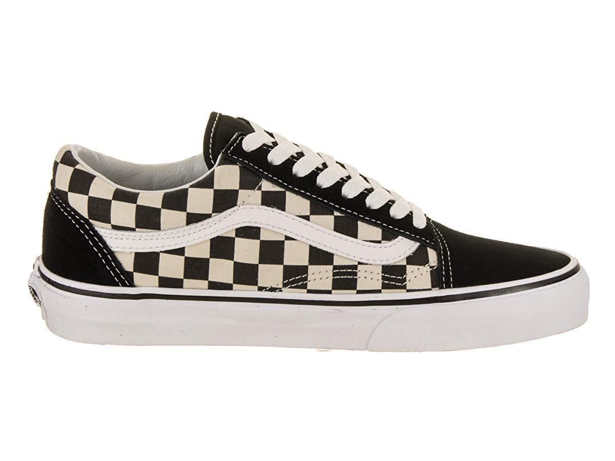 Vans Old Skool (Primary Check) Skate Shoes (4.5 US Men/ 6 US Women) by Vans (Image #5)