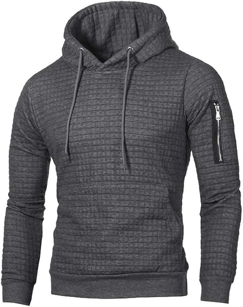 MASHAN Spring Autumn Mens Hoodies Solid Long Sleeve Hooded Coats Male Tracksuit Sweatshirt Men Clothing