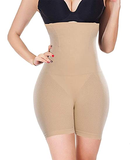 f4f8be035 Womens Butt Lift Hip Enhance Shaper Panty Tummy Control Body Slim Shapewear  Belly Girdle Waist Cincher Belt at Amazon Women s Clothing store