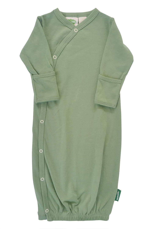 Parade Organics Kimono Gowns - Essentials Olive 0-3 Months GE_OLIV00