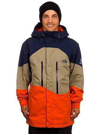 san francisco 3d453 5883e THE NORTH FACE M NFZ Jacket Herren Jacke, Blau/Braun/Orange ...