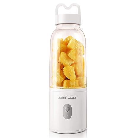 Portable Blender, TOPQSC Smoothie Blender, Plug In Blender, Juicer Cup,  17oz Fruit Mixing Machine, Detachable Cup, Gifts For Women, Perfect Blender