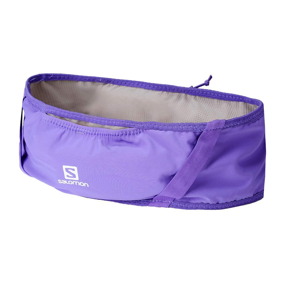 Salomon Unisex Pulse Belt, Purple Opulence, Medieval Blue, S