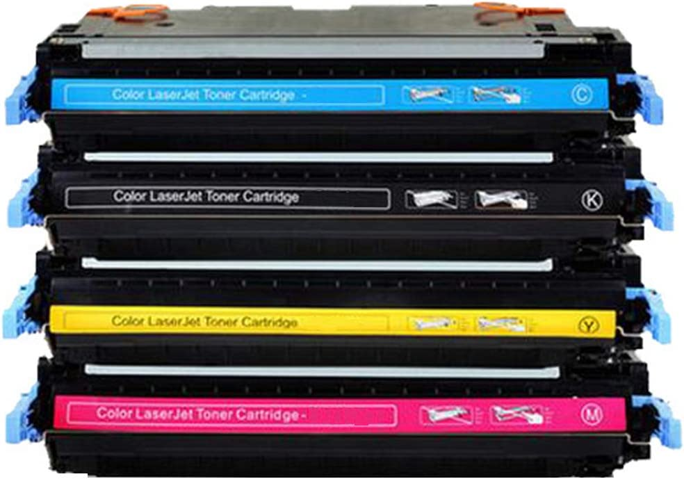 Q6470A Q6471A Q6472A Q6473A Toner Cartridge 4 Pack-Four-colorcombination Compatible for HP Color Laserjet 3600 3600n 3600dn 3800 3800dn 3800dtn CP3505n CP3505dn CP3505x Laser Printer