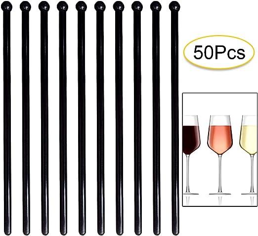 Reusable Cocktail Stirrers Non-Toxic Stir Sticks for Stirring Drink Cocktails Coffee Beverages Juice Milk,10PCS