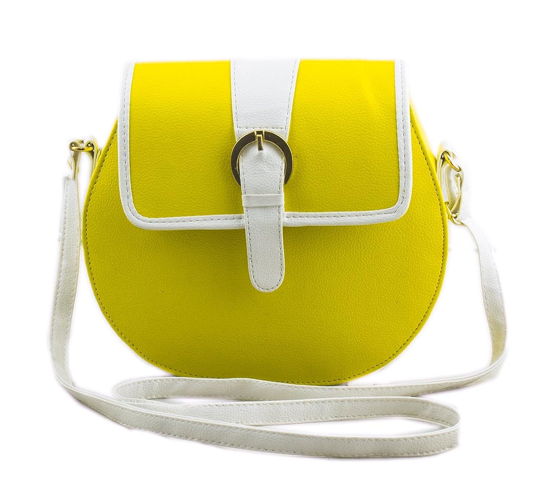 Voaka Women's Yellow Sling Bag