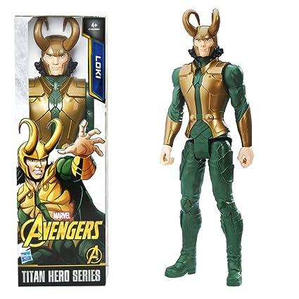 Avengers Titan Cm Loki MuñecaHasbro 30 Thor Marvel C1492 fgIYvb76y