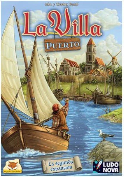 Ludonova - La Villa: Puerto, Juego de Mesa (LDNV30003): Amazon.es ...