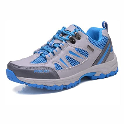 cbbfd2ef759d Amazon.com : YaXuan Outdoor Shoes, Mesh Breathable Couple Hiking ...