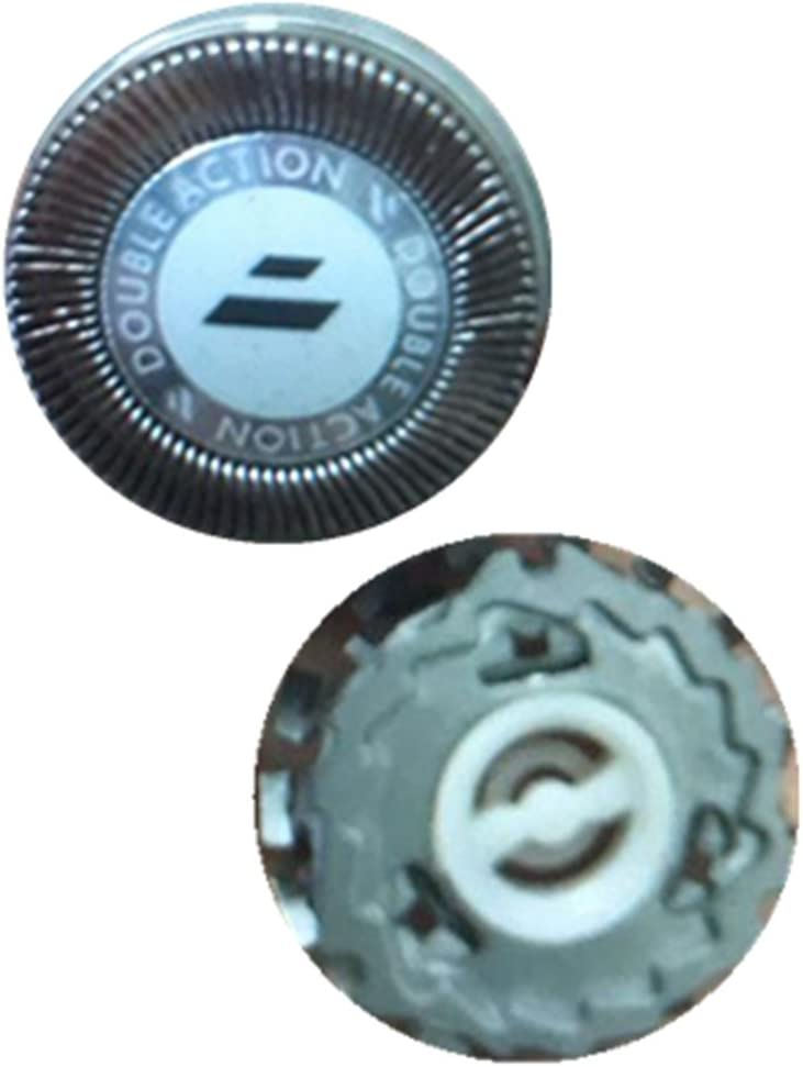 Afeitado cuchilla Cabeza de reemplazo compatible para Philips Electronic SHAVER Series con Free pincel limpio (HQ2)