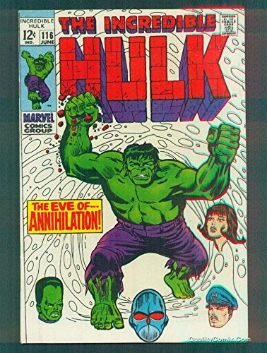 Incredible Hulk #116 NM- 9.2
