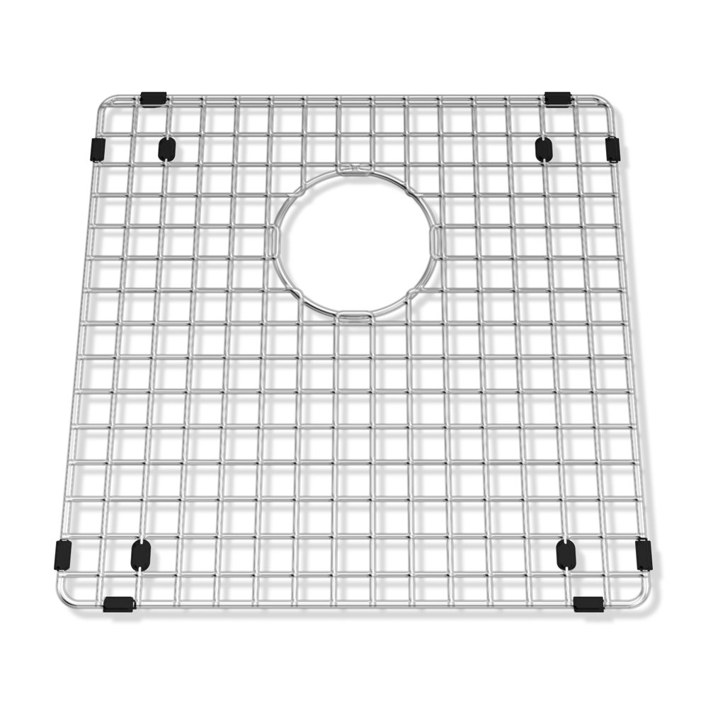 American Standard 791565-206070A Prevoir Square Bottom Grid 15-Inch x 15-Inch Kitchen Sink Rack, Stainless Steel
