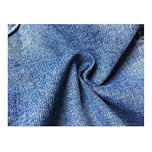 Blouson bleu Veste Femme jean Dreamskull en bleu BZwaCqC