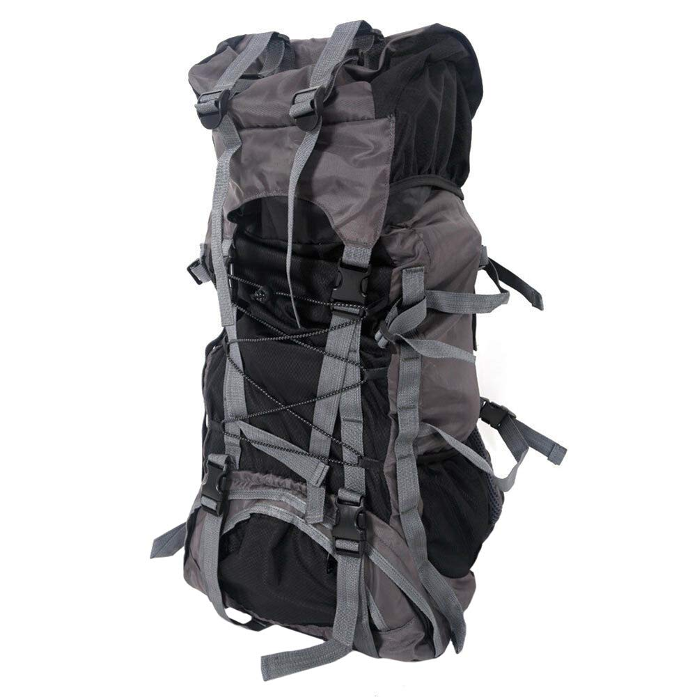 Black TTShonf Travel Lightweight Backpack Foldable Waterproof Outdoor Large Capacity Rucksack Bag forHiking,Camping,Climbing,Cycling,Camping,Outdoor Sports