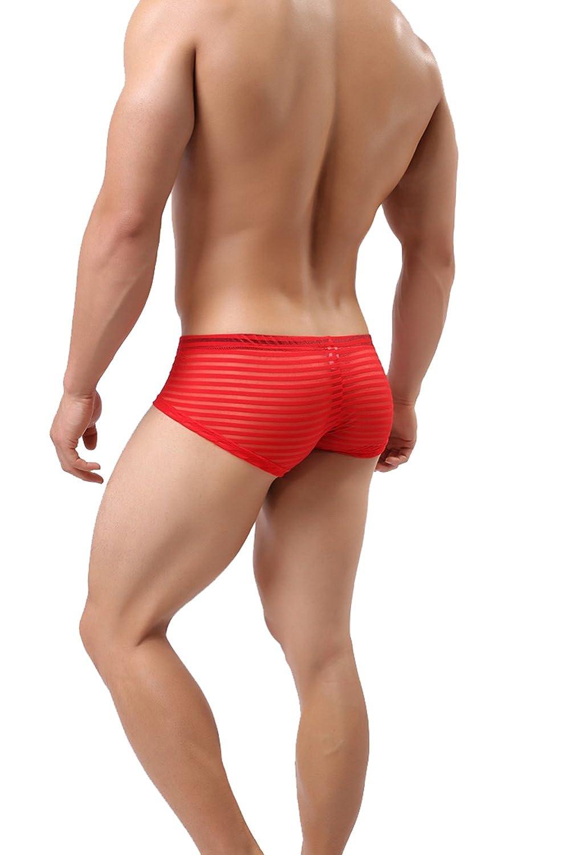 Diversión sexy Erica 2 Paquetes Sexy Bragas Para Los Jacquard Hombres Jacquard Los Panty Pantalones Cortos Ropa Interior Estuche Abultado Translúcido Boxer,Yellow,M c4bbdb