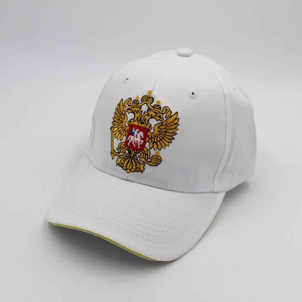 WCZ Berretto da baseball con ricamo aquila bicipite, berretto da uomo, cappello da sole,blu,regolabile