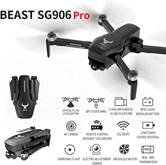 JKRED SG906 Pro GPS Drone 5G WiFi FPV With Tw