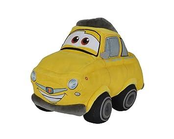 SIMBA 6315874648 – Disney Cars 3, Peluche Auto, Luigi 25 cm