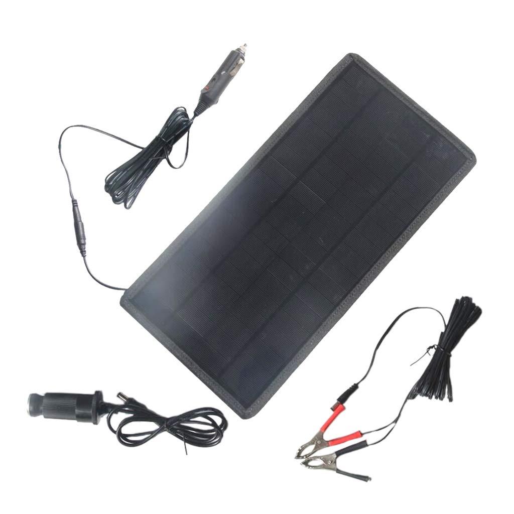 F Fityle Cargador Solar para Coche Eléctrico con Cables de ...