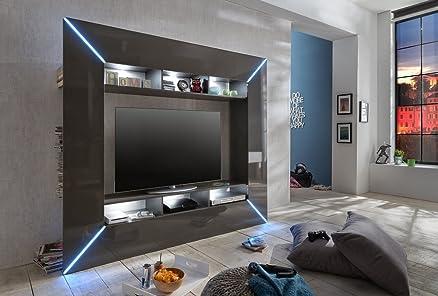 Porta tv moderno Boston,mobile soggiorno di design,parete portatv ...